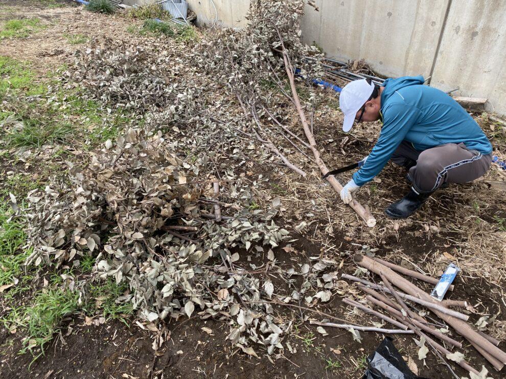 2019年10月17日(木)の作業記録 (台風対策からの復旧作業完了)
