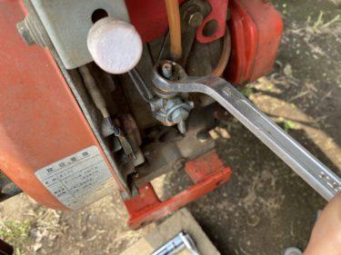 2020年4月27日(月)の作業記録 (マメトラ MV-70の修理メンテナンス完了、竹の子掘り、モロヘイヤの種蒔き(セルトレイ育苗))