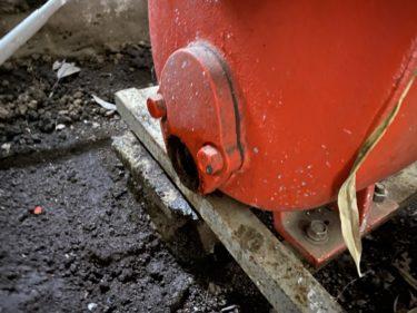 2020年12月14日(月)の作業記録 (小溝玉ねぎと吉岡さん畑で追加の玉ねぎ定植作業、斉藤さん畑の給水ポンプの水抜き作業)