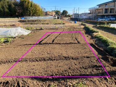 2021年1月13日(水)の作業記録 (斉藤さん畑の下の畑に設置予定の休憩所予定地周りの収穫作業とトラクター耕耘作業等、午後は買い物メイン)